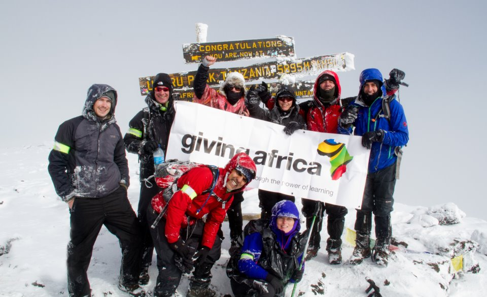 fundraising giving africa