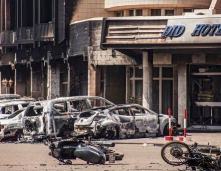 Sending love after the attack in Burkina Faso